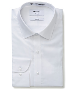 Men's Classic Relaxed Fit Shirt 100% Cotton Dobby