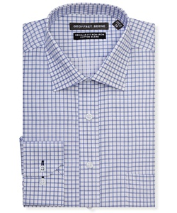 Men's Regular Fit Shirt Window Pane Check