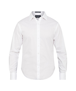 Men's European Tailored Fit Shirt 100% Cotton Dobby Easy Care