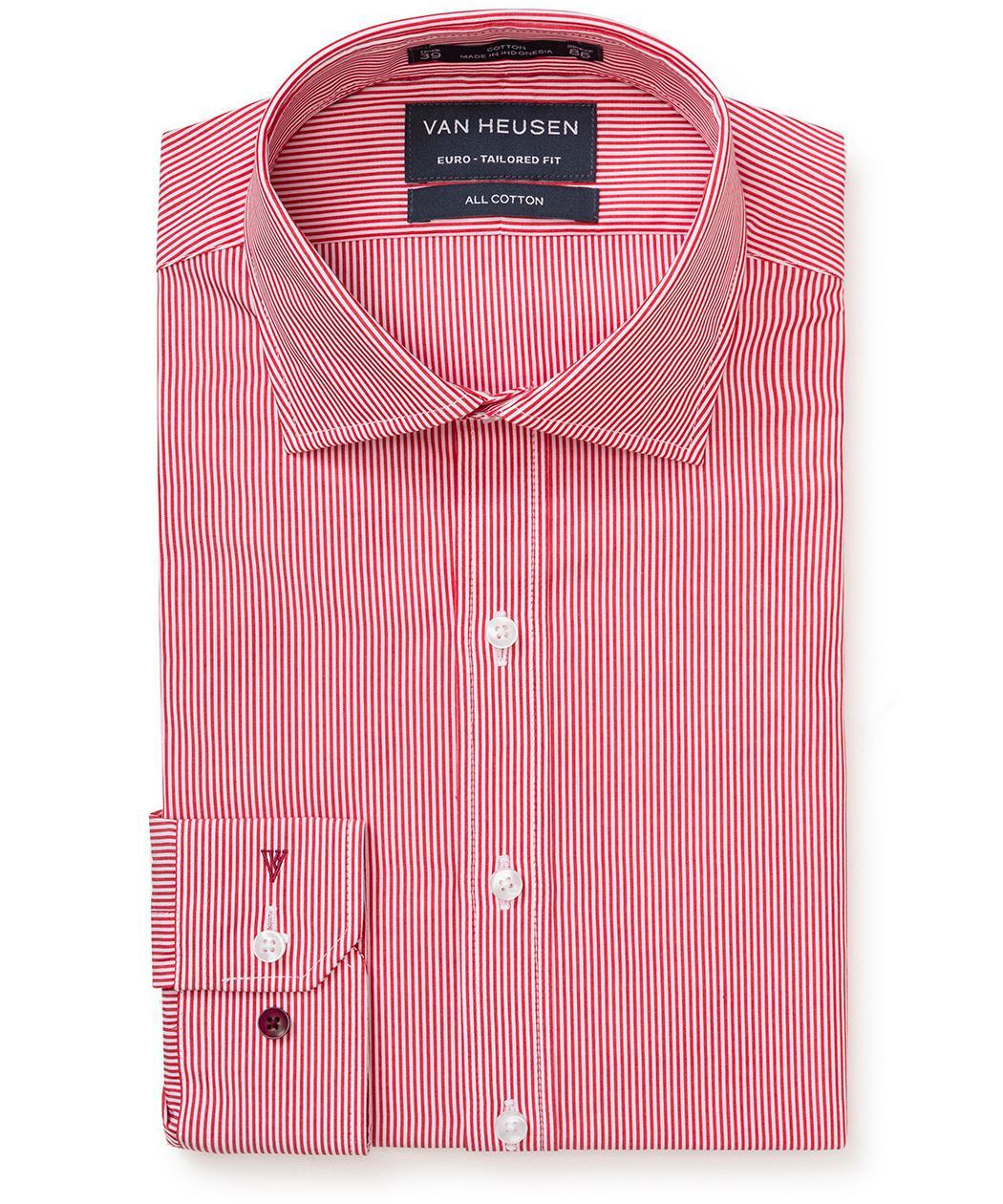 dc2e356d269 Men s Premium Cotton Striped Euro Fit Shirt