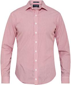 Men's European Tailored Fit Shirt 100% Premium Cotton Stripe