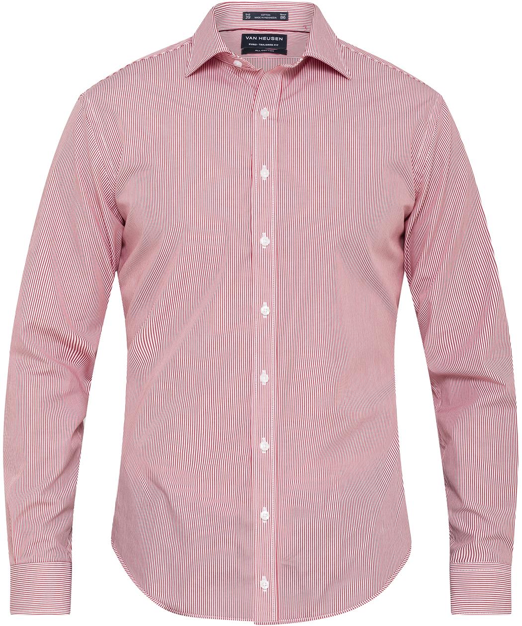 f261b934f89 Van Heusen. Men s European Tailored Fit Shirt 100% Premium Cotton Stripe