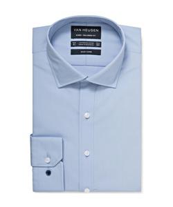 Men's Tailored Fit Solid Poplin Shirt