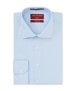 Men's Slim Fit Shirt Solid Colour