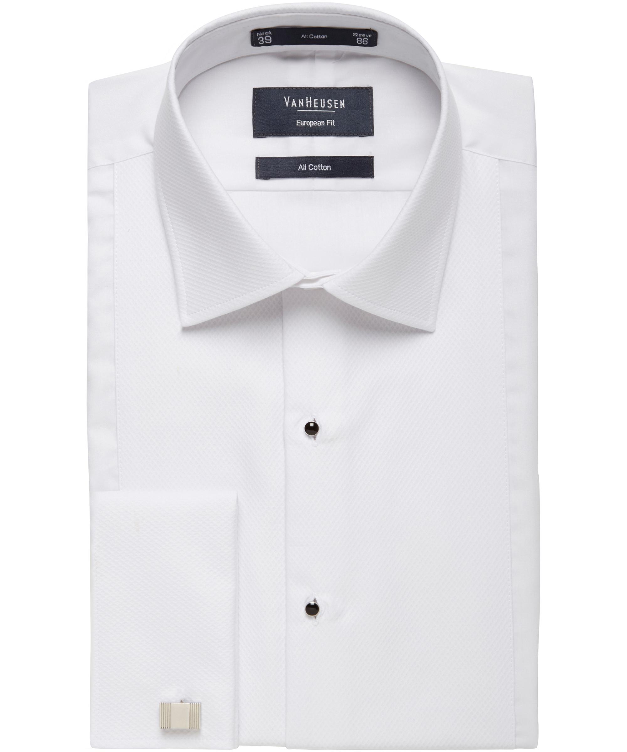 Formal dinner semi spread collar marcella front all cotton for Semi spread collar shirt