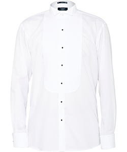 Formal/Dinner Wing Collar Marcella Front European Fit Shirt
