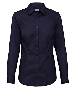 Cotton Polyester Mini Herringbone Classic Fit Shirt