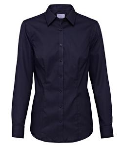 Cotton Polyester Mini Herringbone Classic Fit Shirt