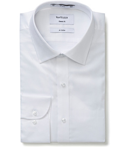 Men's 100% Cotton Dobby Classic Relaxed Fit Shirt