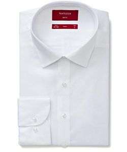Men's Slim Fit Shirt 100% Cotton Dobby