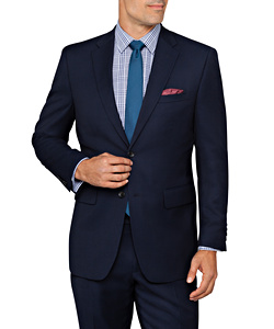 PHASE OUT STYLE - Van Heusen Euro Move Suit Jacket Navy