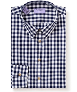 Women's Classic Fit Shirt 100% Premium Cotton Check