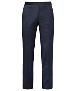 Easy Care Poly Viscose Nail Head Flat Front Trouser