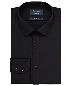Men's Cotton Polyester Poplin European Fit Shirt