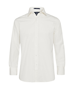 Cotton Polyester Poplin European Fit Shirt