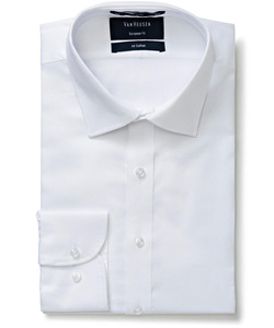 Men's 100% Cotton Dobby Euro Tailored Fit Shirt