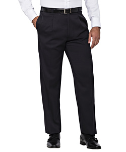 PHASE OUT STYLE - Easy Care Poly Viscose 1 Pleat Trouser