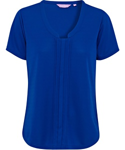 REPLACEMENT STYLE CODE VHKS386: Women's Relaxed Fit Jersey Top Polyester V Neck Easy Care