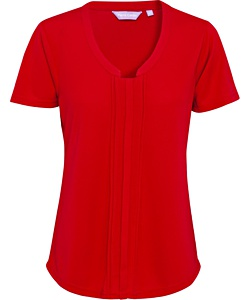 Women's Easy Care Van Heusen V Neck Jersey Top