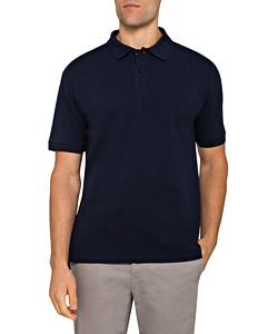 Men's Standard Fit Sport Polo Cotton Rich