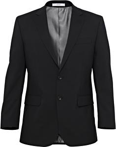 Stretch Wool Blend Plain Weave Suit Separate Jacket - Size 136-152