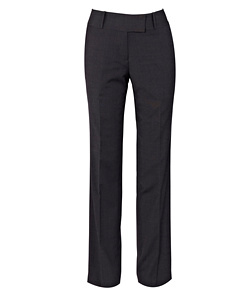 Stretch Wool Blend Plain Weave Suit Separate Trouser - Size 20-24