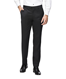 Men's European Tailored Fit Dinner Trouser