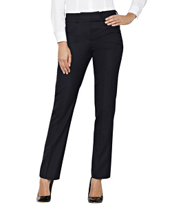 High Twist Wool Blend Suit Trouser