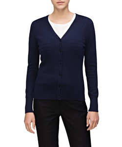 Women's 100% Cotton Jersey Knit Cardigan