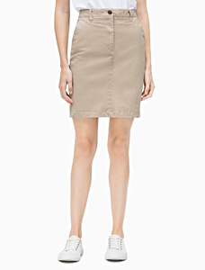 Van Heusen Cotton Stretch Cargo Skirt