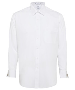 Polyester/Cotton Easy Care Poplin Classic Fit Shirt PHASE OUT STYLE