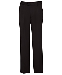 Easy Care Poly Viscose 1 Pleat Trouser