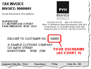Sample of PVHBA Invoice